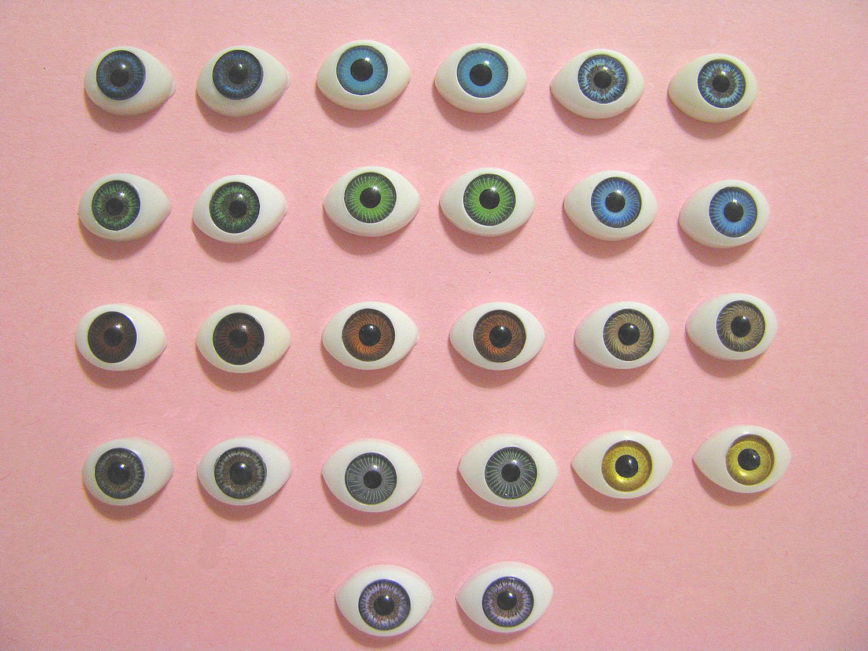Глаза для кукол своими руками 73